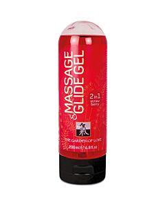 gel lubrificante memorável e shiatsu