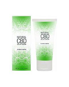 Natural cbd crema retardante 50 ml