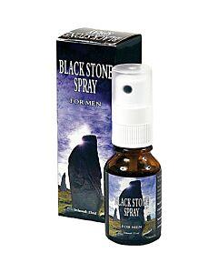 spray de pedra retardador de preto para o homem