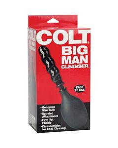 Colt douche anal preto limpeza