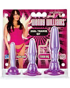 Wendy Williams kit de treinamento anal roxo