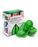 Verspanken peças texturizadas verdes waterwieners