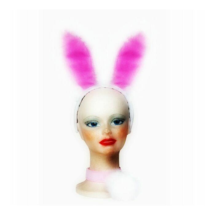 coelho branco sexy em setembro (3 peças)