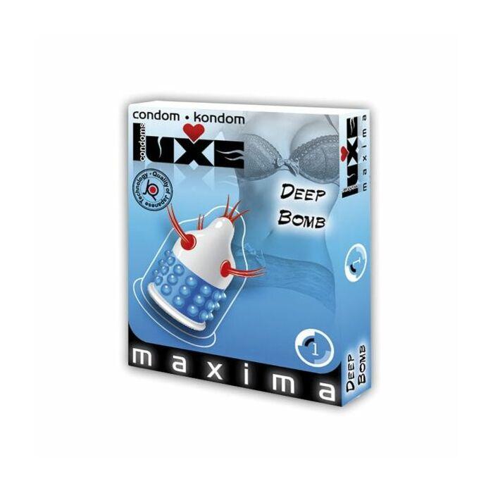 preservativos Luxe 1UD bomba profunda