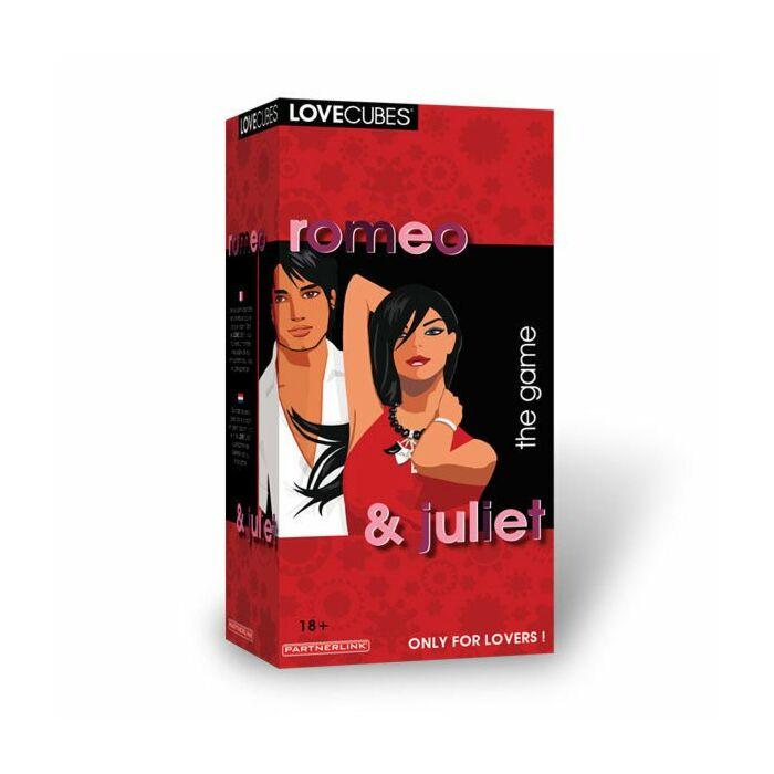 Amor Romeo & Juliet cubos de jogo