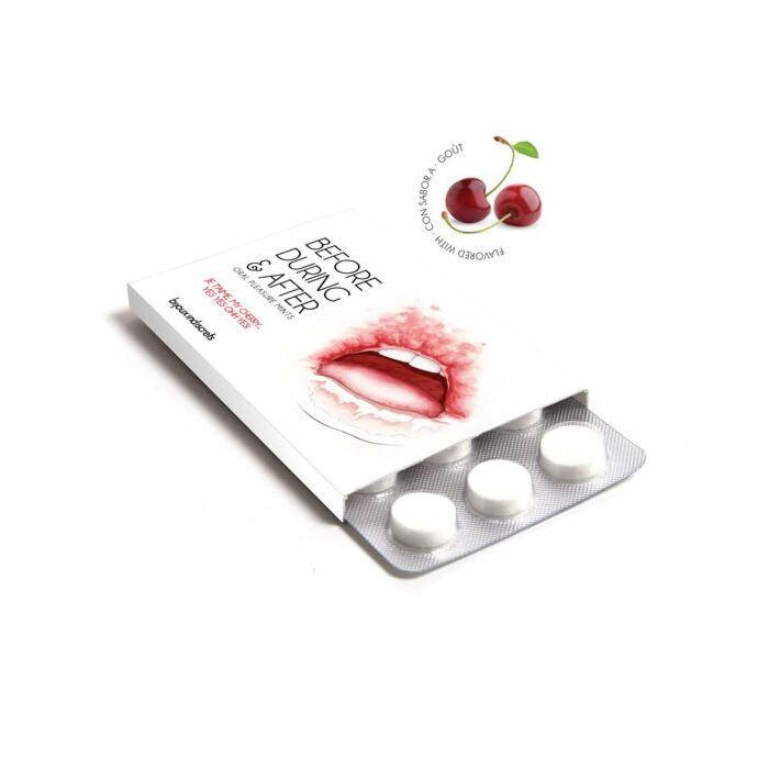 Balas de cereja prazer oral