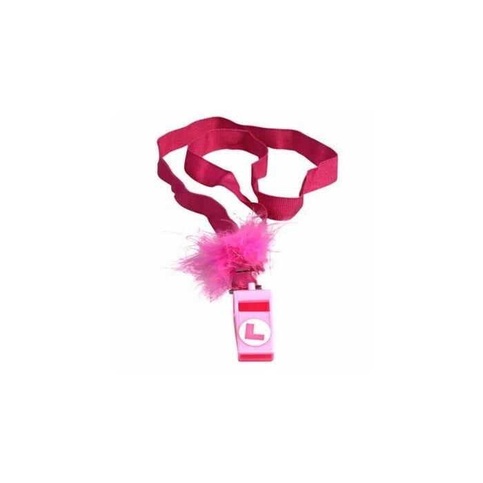 apito marabou rosa