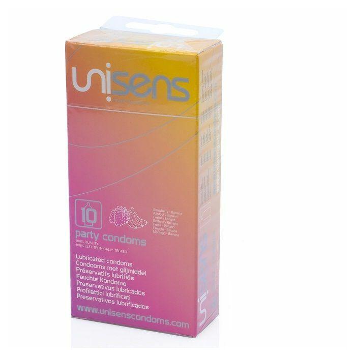 Unisens variedade de preservativos aromatizados 10 pcs